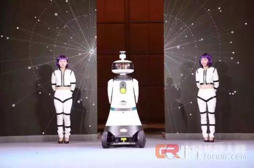 MJ滑步神还原,远传物业服务机器人小远炫酷发布