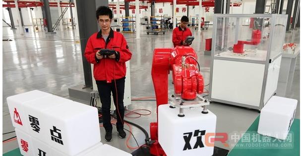 工业机器人前景广
