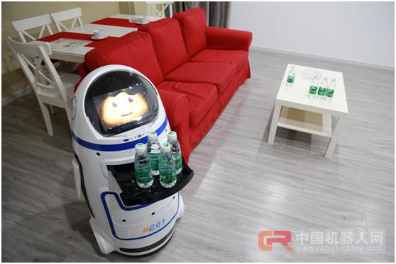自带智能型地图导航 进化者小胖机器人