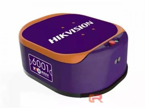 海康威视打造快递分拣机器人,红外和超声波技术结合读码正确率99.99%