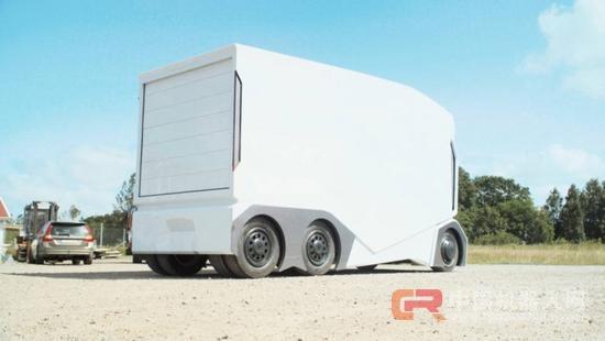 瑞典公司自动驾驶电动卡车:无驾驶室,造型科幻