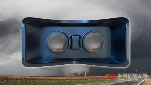 想身临其境体验龙卷风?试试这个VR项目吧