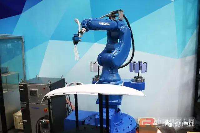 有趣更有料 2017CiROS安川展台那些机器人儿