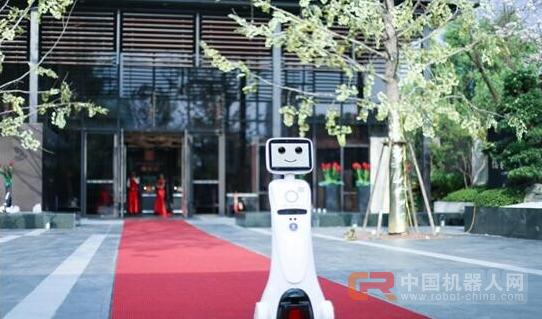 萌翻全场 艾米机器人参加中国国际机器人展