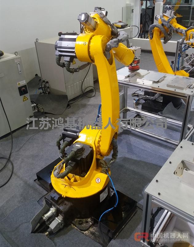 鸿基HR50A抛光 打磨 磨抛机器人产销两旺!