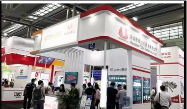 深圳触控显示展看 泰达3D Glass 喷墨、曝光、显影 全制程解决方案