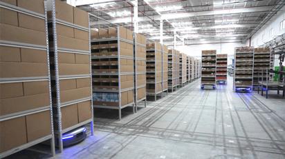 物流机器人公司Geek+完成6000万美元融资,物流行业正变成高科技产业