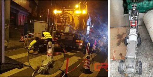非开挖行业又添利器---CIMS管道切割机器人