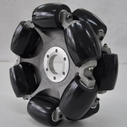 中负载90度 全向轮 麦克纳姆轮 240mm 工业级 物流自动化机器人轮子QLM-24