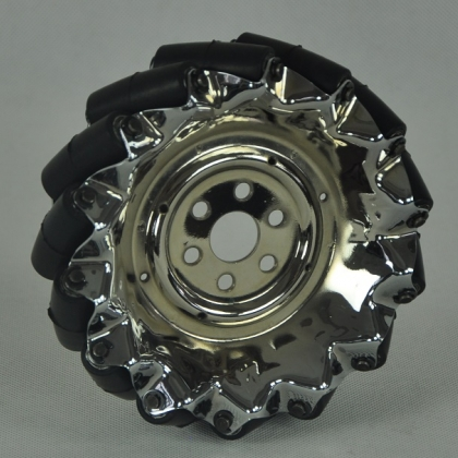 45度全向轮 QMA-15 工业级全向轮 麦克纳姆轮 机器人轮子 机器人比赛 Robocon