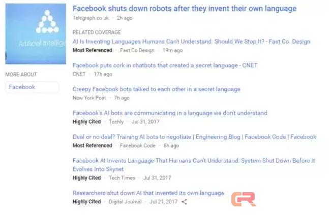 别激动!Facebook AI 根本就没创造新语言,它只是在犯傻