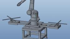 东莞市尔必地机器人九轴喷涂机器人视频