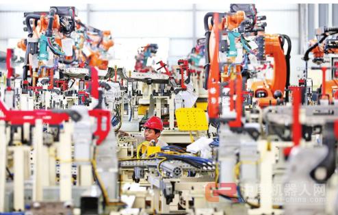 德梅柯:为汽车生产集成焊接机器人系统