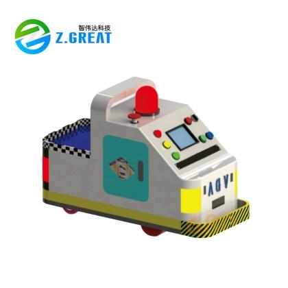 牵引式AGV 搬运机器人 无人运输车 各类AGV整车 底盘订制 苏州智伟达机器人