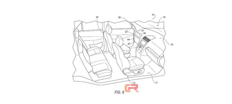 福特无人驾驶新专利曝光 方向盘踏板全消失