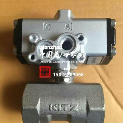 北泽气动球阀 KITZ气动球阀 C-UTE不锈钢气动球阀