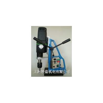 英国麦格TAP30攻丝钻孔磁力钻 攻丝钻孔一体钢板钻