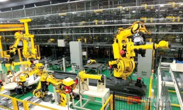 走进发那科 | 由机器人生产机器人的工厂介绍