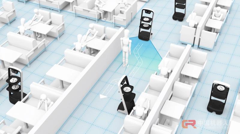 强调送餐机器人的实用性,「普渡科技」已实现产品量产并出货数百台