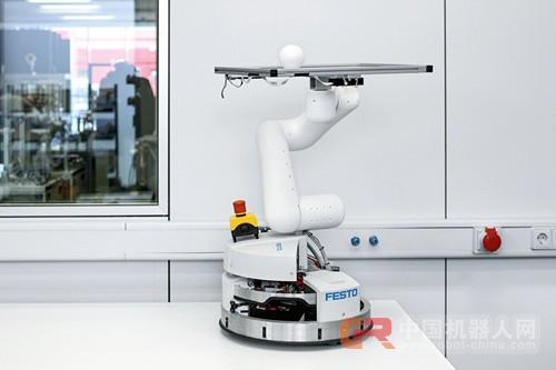 Festo与华为共同探索研究5G云化机器人
