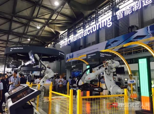 ABB机器人智能制造助力华为全连接大会