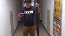 高清无线管道潜望镜现场测试视频