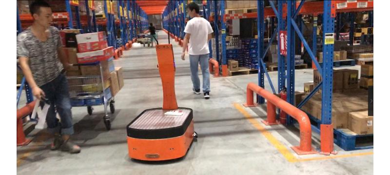 仓储物流黑科技大革新 AICRobo仓储自主运输机器人成功通过初测