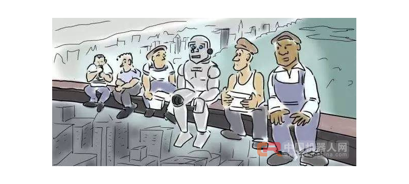 """机器人开始""""智能替代""""了,年轻人与机器人即将引爆就业战争?"""