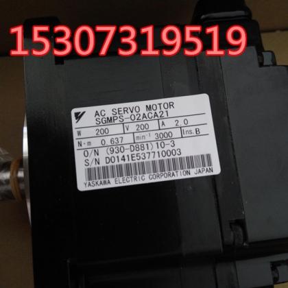 安川SGMPH-01ANA-YR11伺服电机