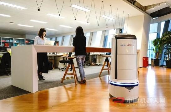 饿了么外卖机器人诞生!完成中国首个办公楼内订单配送