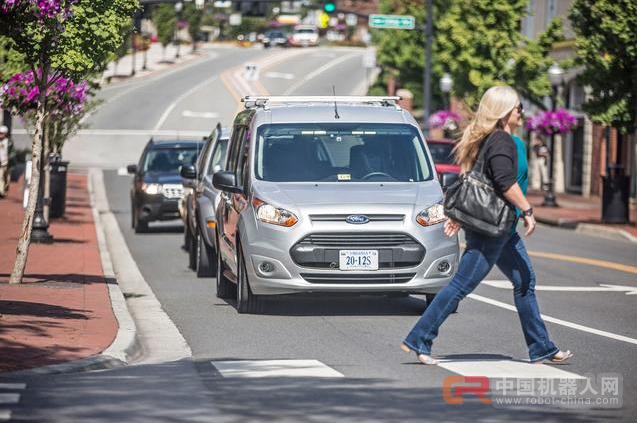 福特希望无人驾驶汽车与闪光灯进行沟通