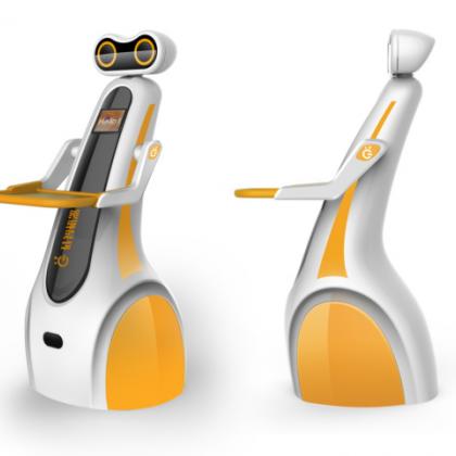 2017新款智能服务员,餐厅助手机器人 送餐传菜机器人