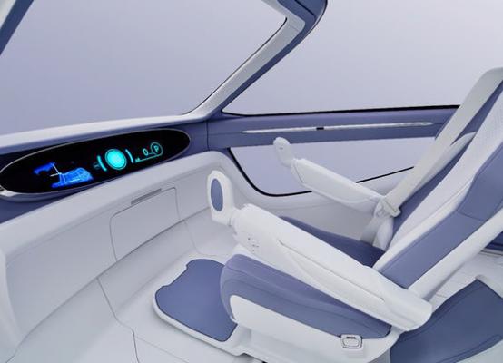 丰田推出i系列概念车 融合人工智能科幻感十足