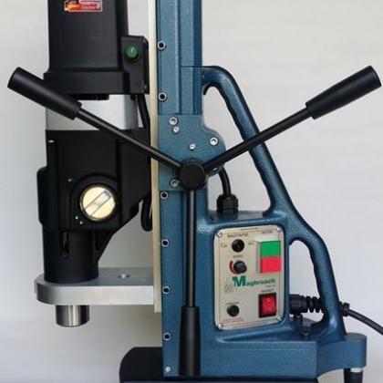 英国麦格钻攻两用磁力钻MTD140,大直径钻孔吸铁钻