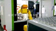 六轴机器人实现机加工自动化生产线