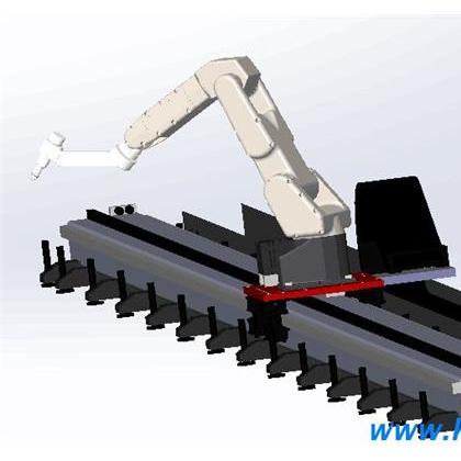 机器人行走轴|第七轴用在包装应用|合登