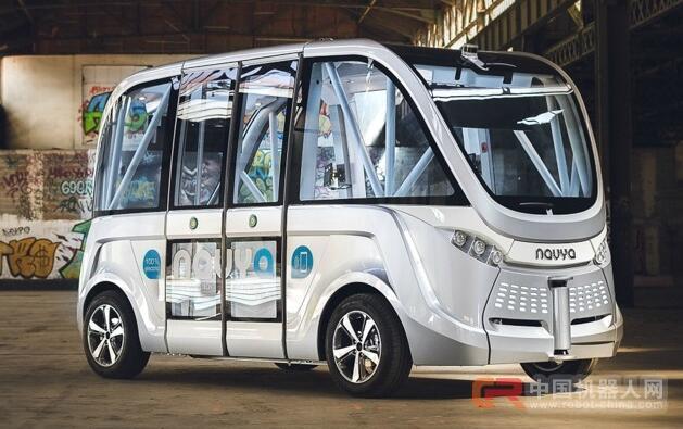 Navya计划推出机器人出租车 欲打败通用等公司