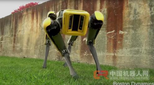 波士顿动力公司展示SpotMini机器人:更优雅更灵活