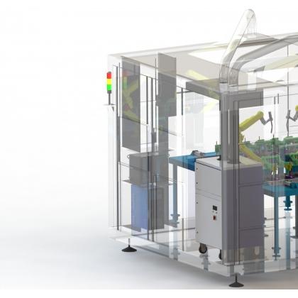 机器人焊接房设计制作厂家|铝型材车间房制造厂家