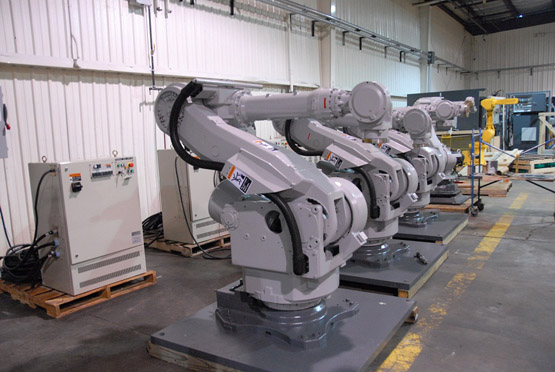"""全球机器人企业在华集结 中国成世界""""机器人工厂"""""""