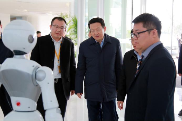 江苏省委常委、苏州市委书记周乃翔到博众科技园调研
