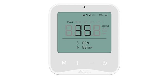 智能环境检测面板 让空气质量无所遁形
