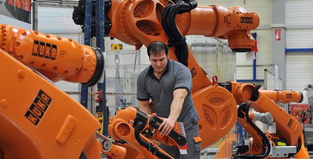 美的收购的德国机器人厂商库卡:欲称霸中国市场