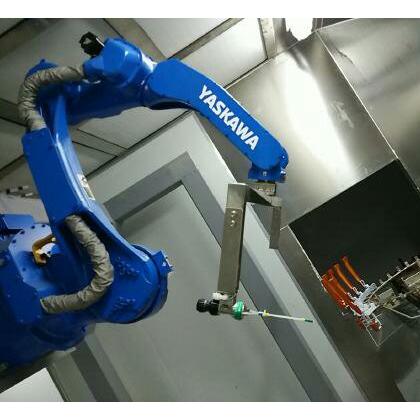 五金静电自动喷涂机器人