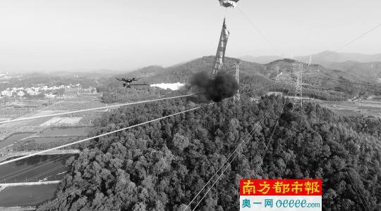 无人机+机器人 多种高科技加持 保障惠州人用好电