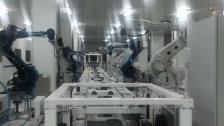 川崎机器人机器人第七轴桁架联动方案
