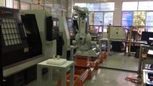 ABB机器人第七轴机床上下料项目