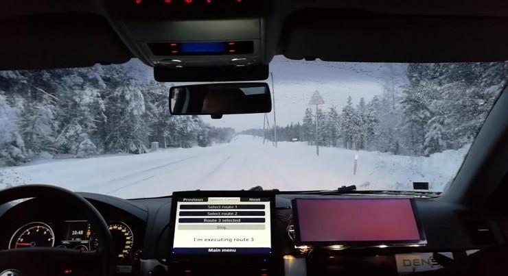 芬兰自动驾驶车在雪地上路,或可挑战Waymo