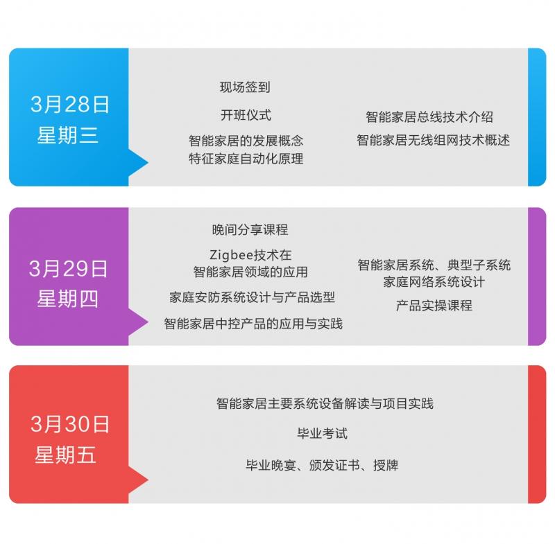 第十九期CSHIA智能家居系统工程师培训3月杭州开班