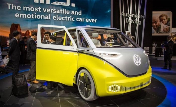 大众I.D. BUZZ车型采用英伟达人工智能技术